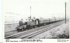 Hertfordshire Train Postcard -Stopping Nr Tring- L.M.&.S.R. T2-6-4 No.2377 -K921