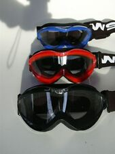 Kinder Dixon WSGG MX Schutzbrille Motorrad rot Gogkidr