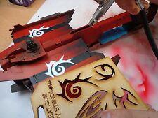Wargames Imperial Marines Space Orboros Dark Eldar Tribal Art Stencils #44a/b