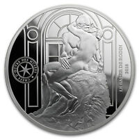 2018 Silver €10 Masterpieces of Museums Proof (Le Baiser) - SKU#171820