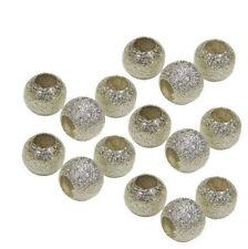 30 Metallperlen Spacer Rondell Stardust 10mm Zwischenperlen Schmuck MODE M160#3