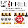 10ml Pure & Natural Aromatherapy Essential Oil Therapeutic Grade + Free Dropper