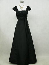 Cherlone Übergröße Schwarz Ballkleid Brautkleid Abendkleid Brautjungfer Kleid 52