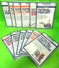 TUTTO SU-LOTTO 12 GUIDE CORRIERE DELLA SERA.ECONOMIA E FAMIGLIA 2011