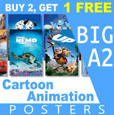 Disney Cartoon/Animation Kids Movie Poster (Big A2) Photo, Prints, Art, Film