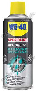 WD-40 Kettenspray Special Motorbike Serie 400ml, Kettenfett Kette Motorrad 56333