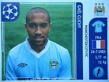PANINI 44 Gael clichi Manchester City UEFA CL 2011/12