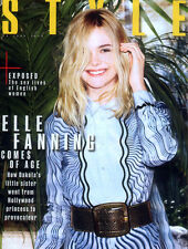 SUNDAY TIMES STYLE MAGAZINE SUPPLEMENT 26 JUNE 2016 . ELLE FANNING