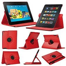 """STUFF4 Red 360 Cover/Case for Amazon Kindle Fire HDX 8.9"""" (1st Gen/2nd Gen)"""