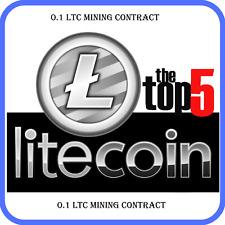 0.1 Litecoin(LTC) Crypto Mining-Contract (0.1 LTC)