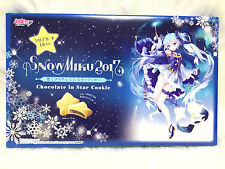 NEW ❤ Twinkle Snow Miku 2017 chocolate cookies Sapporo Snow festival Limited ❤