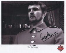 "Doctor Who RARE Auto Photo Print Gregg Palmer ""Lt. Lucke"""