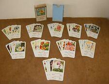 Ancien jeu cartes - FLEURS Nr. 278 Ferd. Piatnik & Söne Wien XIV - 50s - Complet
