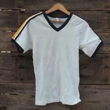Bike Single Knit Short Sleeve T Shirt Size S Vtg 1980's 1970's Raglan Deadstock