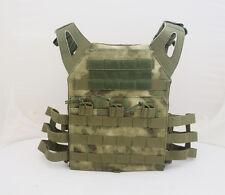 JPC Tactical MOLLE Vest Plate Carrier - A-TACS/FG