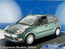 FORD FIESTA MK6 MODEL CAR GREEN 1:43 SCALE MINICHAMPS 4 DOOR SPECIAL RELEASE K8