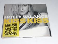 Holly Valance - Kiss Kiss (CD Single in Gatefold sleeve with Poster)