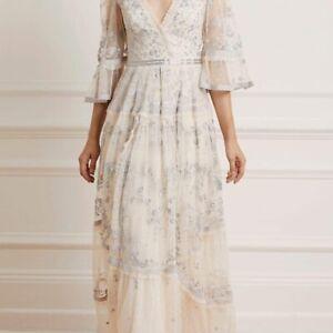 BHLDN Needle & Thread Dress Gown size US 4 $600