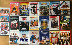 DVD BUNDLE 20 comedy films movies Sandler Stiller Bateman Reynolds The Rock lot