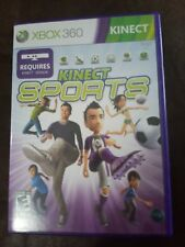 Kinect Sports MICROSOFT XBOX 360 GAME COMPLETE w/MANUAL BOXING VOLLEYBALL BOWLIN