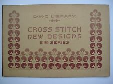 CROSS STITCH NEW DESIGNS IIIrd  Series by D. M. C. Library.