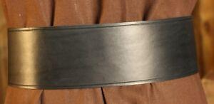 Breitgürtel aus Leder, 10cm