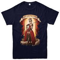 Harley Quinn T-shirt, God Save The Quinn Tapestry, DC Comics Gift Top