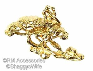 Bonsai Tree Charm Pendant EP Gold Plated Jewelry with Lifetime Guarantee!