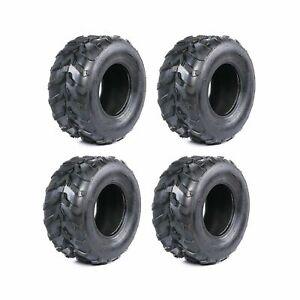 """4 pack 7"""" inch Tires 16x8-7 Tire for ATV Quad Go Kart Taotao Coolster Golf Cart"""
