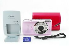 Canon IXY Digital 10 S 14.1 MP Digital Camera Pink w/SD Card [Exc++] JP #761482