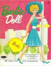 Vintage Uncut Barbie Paper Dolls 1962 Rare Pink Folder Version! #1 Reproduction!