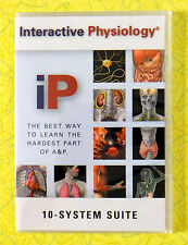 Interactive Physiology - 10-System Suite ~ New PC CD-Rom Software ~ A&P Health