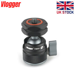 Vlogger Multi-Functional Ball Head with Quick Release Cold Shoe Mount Maximum Pa