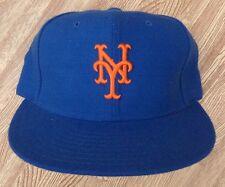 New York Mets Vintage Wool Pro Model MLB Baseball New Era Hat ~ Blue ~ 6 3/4th