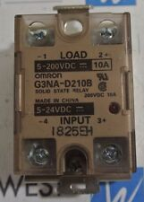 OMRON G3NA-D210B - SOLID STATE RELAY - LOT OF 2 - USED