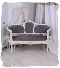 Vintage Sofa Marie Antoinette Couch Seating Bench Shabby Chic Baroque Salon