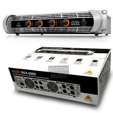 Behringer NU46000 4-Channel DJ Power Amplifier 6000 Watts NU4-6000 OPEN BOX