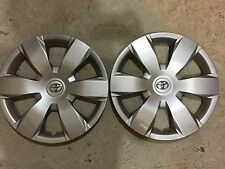 "Pair Of 2 61137 Toyota Camry Hubcaps Wheelcovers 16"" Inch 2007 08 09 10 11 12"