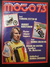 Moto 73 #26 26 december 1980 (NL) poster Side Cars o.a. Biland, Taylor, Michel