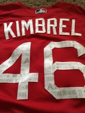 cadbcf804 Boston Red Sox Team Issued Spring Training Jersey 2017 Craig Kimbrel