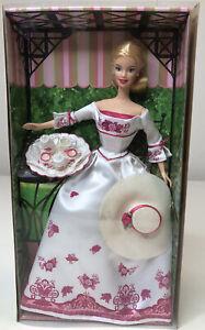 2002 Victorian Tea Avon Blonde Barbie Doll