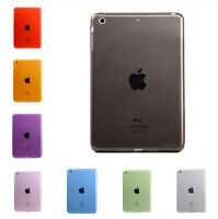 New Transparent TPU Case Protetive Cover Shell For iPad Air 1/2 Mini 2/3/4 Pro J