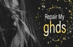 GHD REPAIR SERVICE  Hair straightener fix Broken - UK nationwide 6 Mth WARRANTY