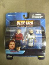 Star Trek Mini Mates Admiral Kirk & Duty Uniform Scotty Series 4- NEW
