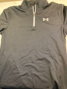 Under Armour Mens fitted Qtr-zip Long Sleeve Cold Gear Size Medium