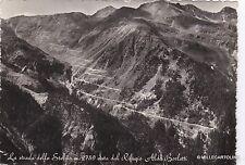 # LA STRADA DELLO STELVIO VISTA DAL RIFUGIO ALDO BORLETTI  1953