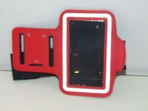 Black & Red Phone Armband
