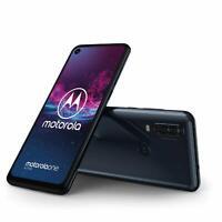 Motorola One Action - 128GB - Dual SIM Denim Blue (Unlocked) Smartphone
