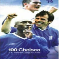 Chelsea FC - 100 Great Goals Football 2008 Fa Premium League New Sealed UK DVD
