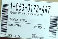 063 0172 447 Raven Sensor Rfm 60 Deutch Hp 3 Pin